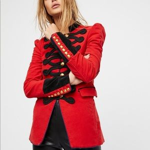 Free People Jackets & Coats - Free People Seamed and Structured Blazer